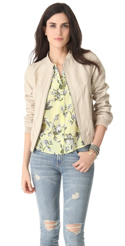Joie Danica B. Leather Jacket