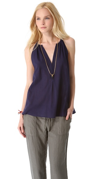 Joie Tank  :  shopbop joie navy style