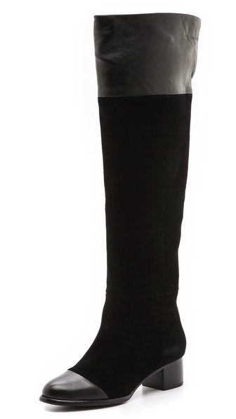 Joie Sabra Suede Combo Boots