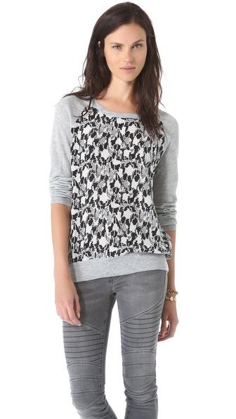 Joie Malena B Silk Pullover