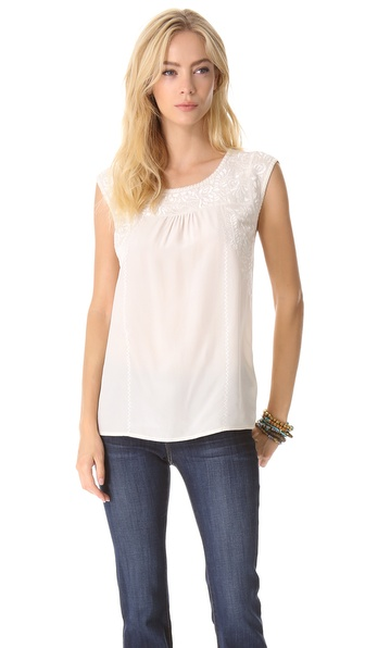 Joie Alexei Embroidered Top