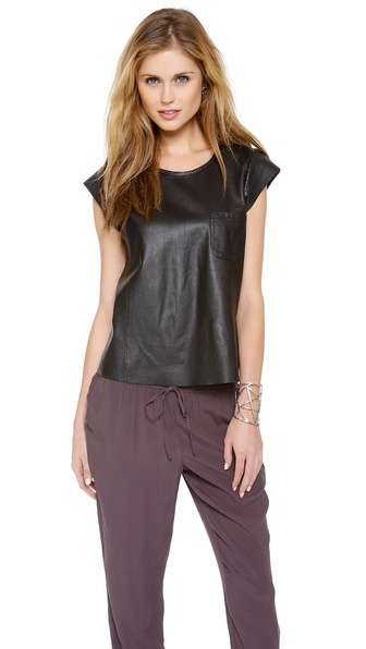 Joie Rancher Leather Top