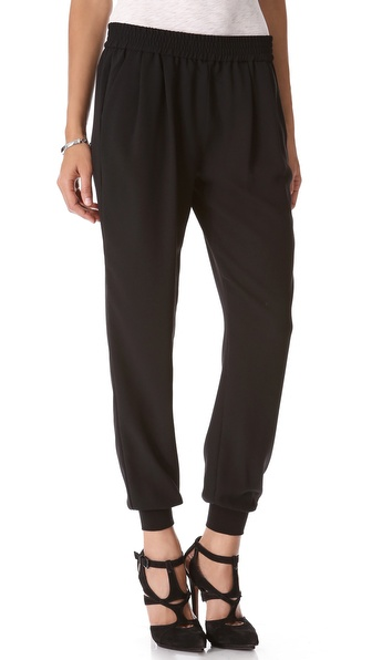 Joie Mariner Pants - Caviar at Shopbop / East Dane