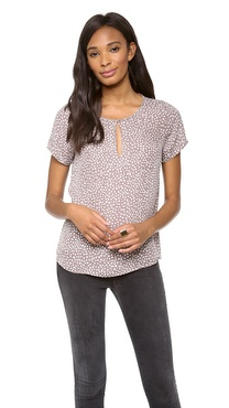 Joie Marice Scattered Hearts Top