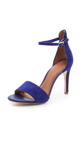 Joie Jaclyn Suede Sandals - Cobalt at Shopbop / East Dane