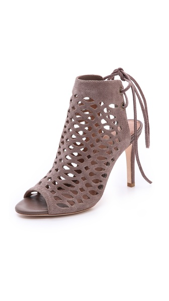 Joie Clayton Cutout Booties - Mink at Shopbop / East Dane