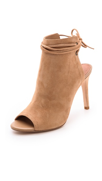 Joie Lexington Open Toe Booties - Nude at Shopbop / East Dane