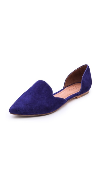 Kupi Joie cipele online i raspordaja za kupiti Elegant Joie d'orsay flats, cut from luxe, velvety suede and trimmed with tonal grosgrain piping. Notched top line. Leather sole. Leather: Cowhide. Imported, China. This item cannot be gift boxed. Available sizes: 36,38,38.5,39,39.5,40,41