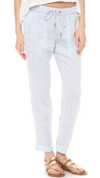 Joie Edana B Pants - Dusty Chambray W/ Porcelain at Shopbop / East Dane