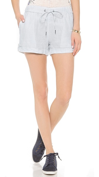 Joie Dill B Shorts - Dusty Chambray W/ Porcelain at Shopbop / East Dane