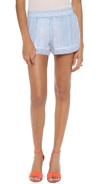 Joie Beso Shorts - Dusty Chambray at Shopbop / East Dane