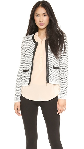 Joie Jacolyn B Zip Jacket