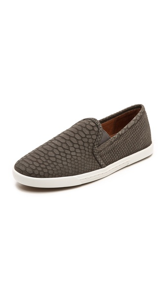 Kupi Joie cipele online i raspordaja za kupiti A slim silhouette lends a refined feel to snake embossed nubuck slip on sneakers. Inset elastic gores. Contrast rubber sole. Leather: Cowhide. Imported, China. This item cannot be gift boxed. Available sizes: 35,35.5,36,36.5,37.5,38,39.5,40,41