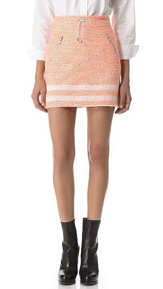 Jonathan Simkhai Boucle Zip Skirt