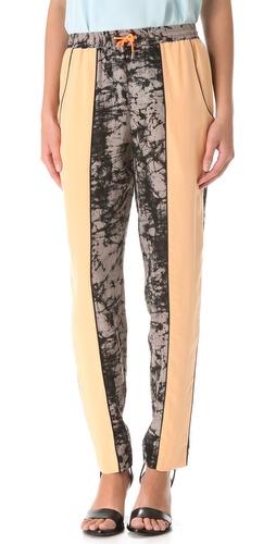 Jonathan Simkhai Colorblock Track Pants