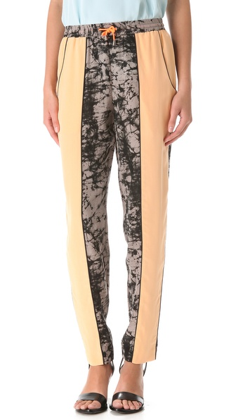 Jonathan Simkhai Colorblock Track Pants