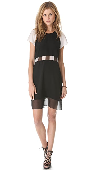 Jonathan Simkhai Check T Dress