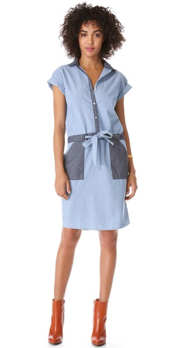 Jonathan Simkhai Chambray Tie Dress at Shopbop / East Dane