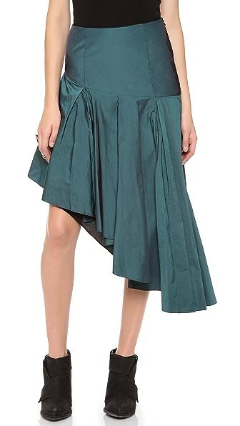 Jonathan Simkhai Asymmetrical Skirt