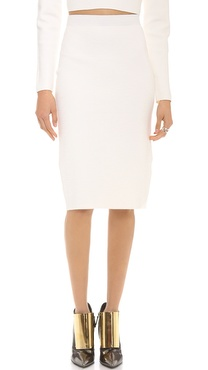 Jonathan Simkhai Knit Pencil Skirt