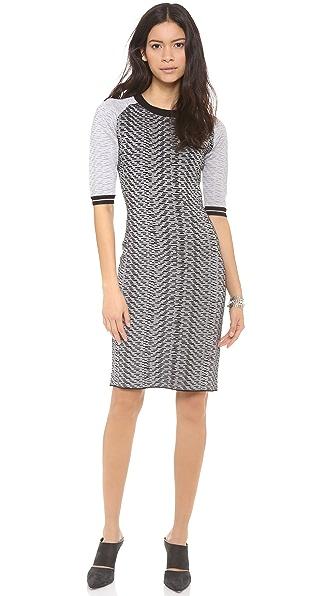 Jonathan Simkhai Fitted Knit Dress