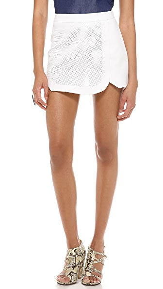 Jonathan Simkhai Perforated Sport Shorts