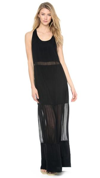 Kupi Jonathan Simkhai haljinu online i raspordaja za kupiti Jonathan Simkhai Drew Twist Back Dress Black online