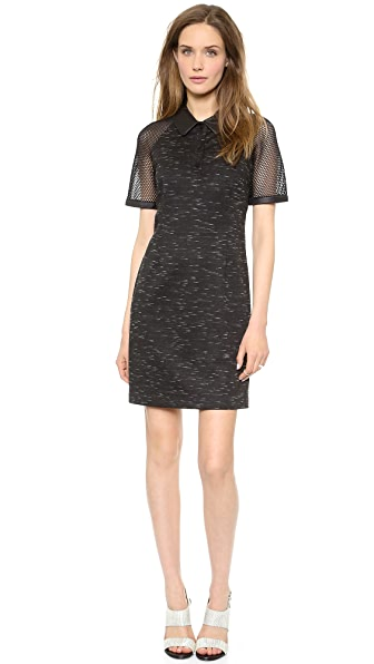 Jonathan Simkhai Mesh Polo Dress