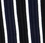Navy/Black/White Stripe