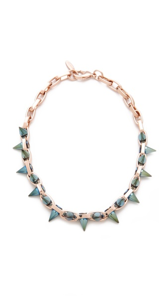 Joomi Lim Future Perfect Double Spike Choker