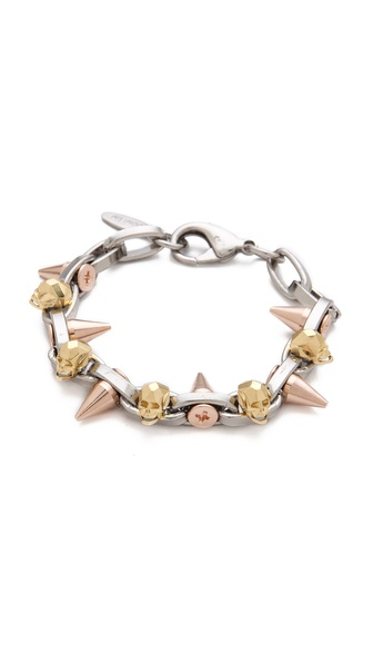 Joomi Lim London Calling Skull Bracelet