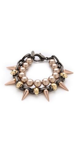 Joomi Lim London Calling Skull Bracelet