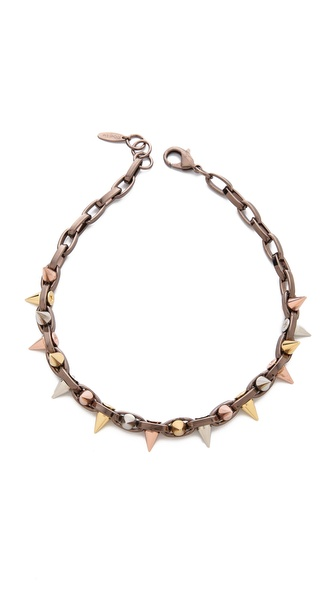 Joomi Lim Mixed Emotions Spike Choker Necklace