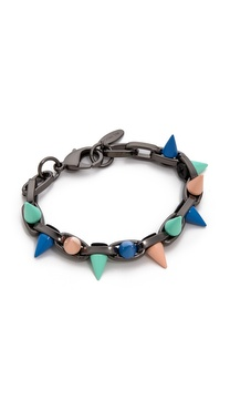 Joomi Lim Pretty In Punk Painted Spikes Bracelet