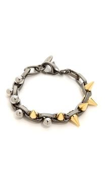 Joomi Lim Metamorphosis Double Row Bracelet With Spheres & Spikes