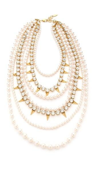 Joomi Lim Vicious Love Multi Strand Necklace