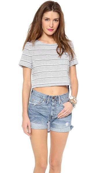 JOA Short Sleeve Top