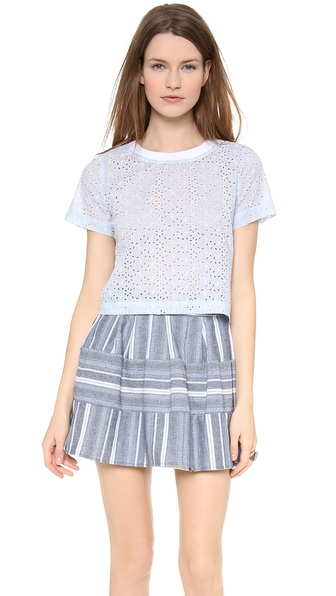 JOA Short Sleeve Top