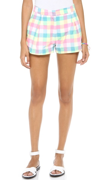 JOA Plaid Shorts