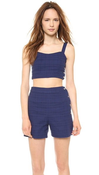 JOA Amy's Sleeveless Crop Top