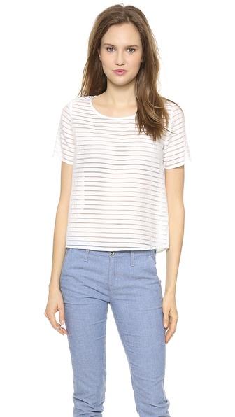 JOA Striped Top