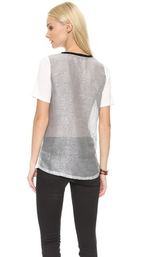 JOA Knit Jersey Top