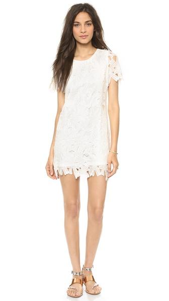 JOA Flower Lace Dress