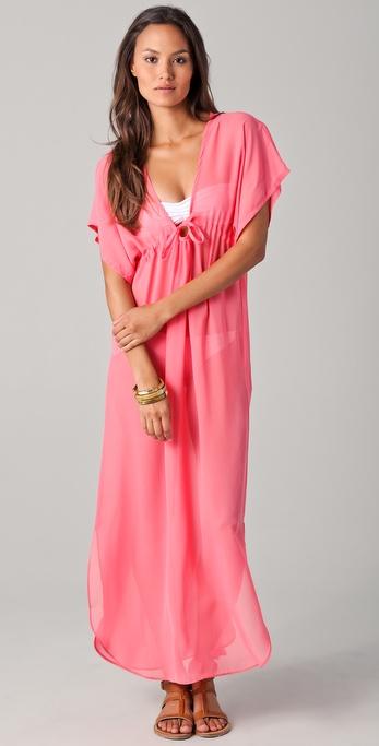 JOSA tulum Rustic Long Cover Up Dress