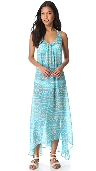 JOSA tulum Low Back Halter Cover Up Dress