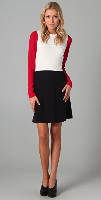 Joseph Van Colorblock Dress