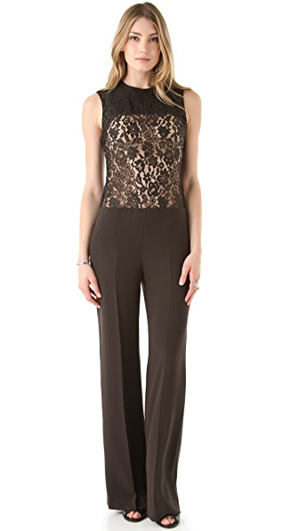 Joseph Kip Lace Top Jumpsuit