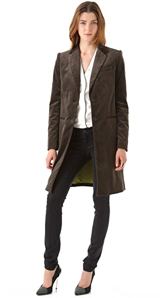 Joseph Man Velvet Coat