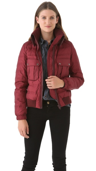 Joseph Maya Short Puffer Coat