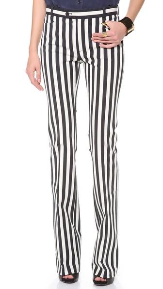 Joseph Rocket Striped Pants